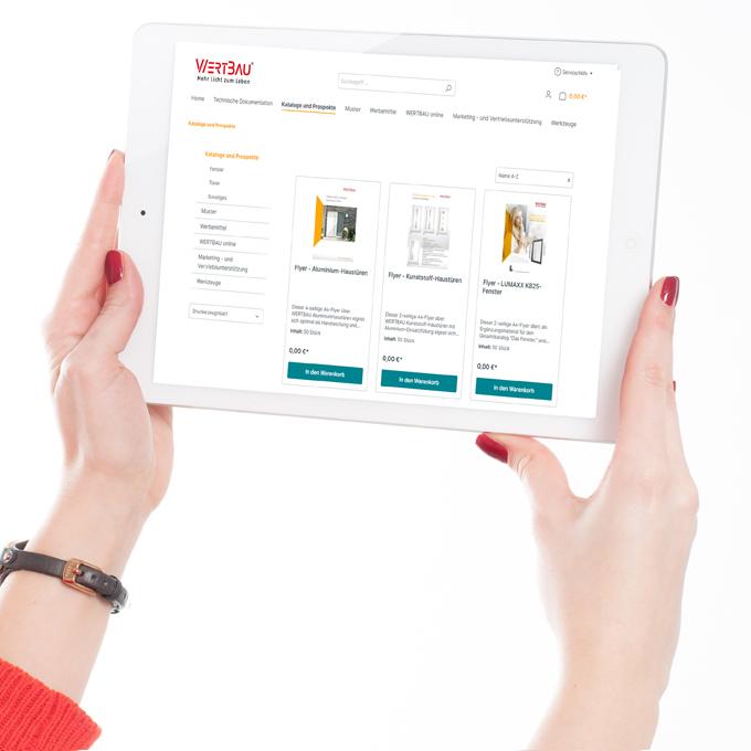 WERTBAU Startseite Produktportfolio